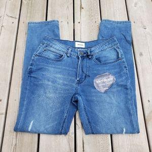NWT Hudson Jagger slim straight jeans